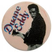 Duane Eddy - 'Holding Mic' Button Badge